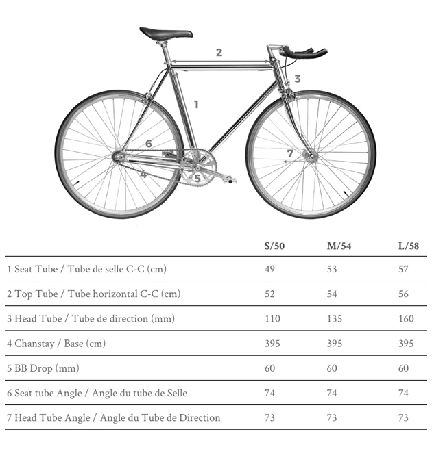 Bicicletta Single Speed Jitensha White