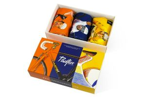 Pack 3 Calzini Pacifico Cycling Legends - Pacco Regalo