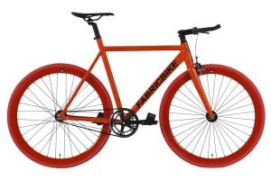 Bicicletta Fixie FabricBike Light Fully Matte Red