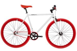 Bicicletta Fixie FabricBike White & Red