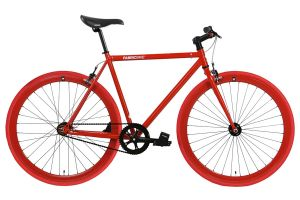 Bicicletta Fixie FabricBike Fully Glossy Red