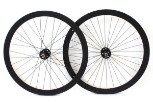 Set di Ruote Fixie H+Son Formation Face Nere