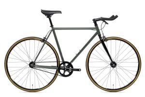 Bicicletta fixie State Bicycle Co. Army Green