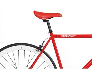 Bicicletta Fixie FabricBike Red & White