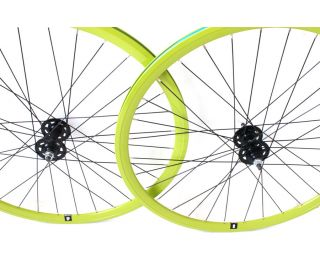 Set di Ruote Fixie dp 18 Verde Lime